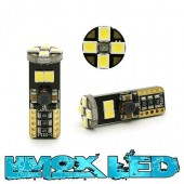 LED Glassockel W5W T10 8x 2835 SMD Weiß