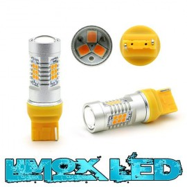 LED Lampe T20 W21W 7440 4G Technik Orange