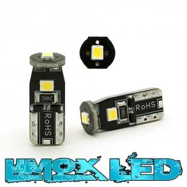 LED Glassockel W5W T10 3x 2835 SMD Weiß