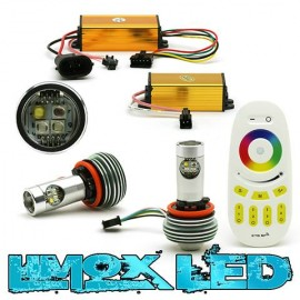 Angel eyes Lampen BMW RGB CREE E92 H8 60W