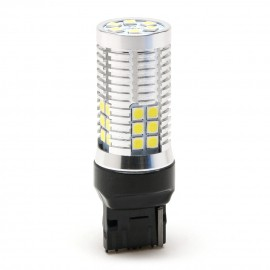 LED Metalsockel W21W T20 7440 30x3030 SMD Weiß 100 % Canbus Inside